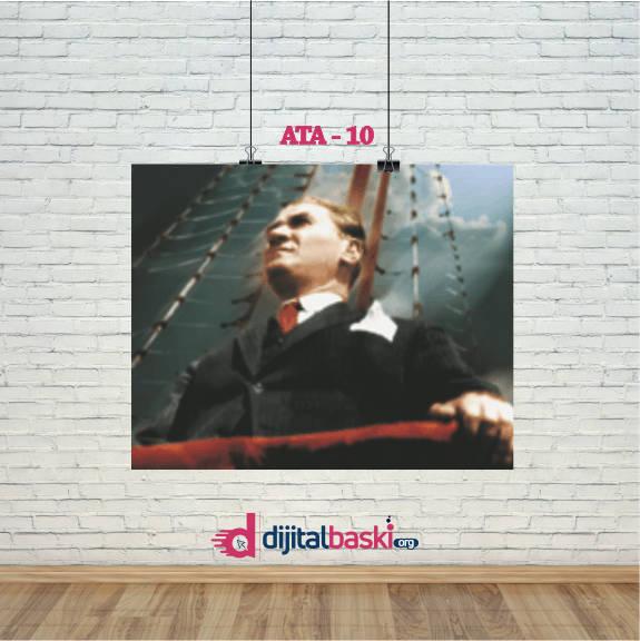 atatürk posterleri ATA 10