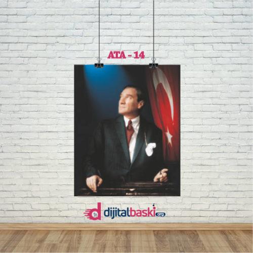 atatürk posterleri ATA 14