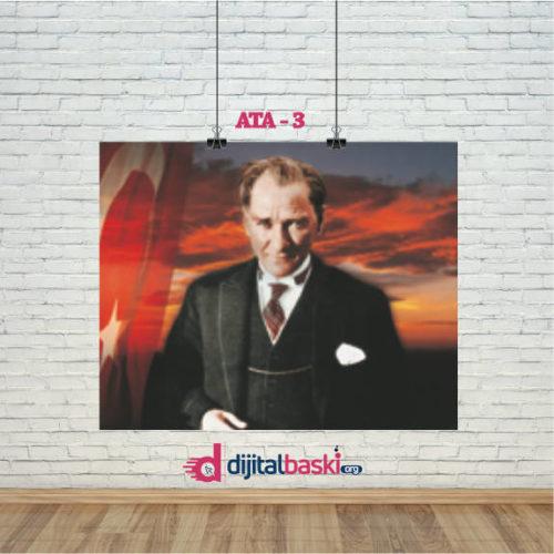 atatürk posterleri ATA 3