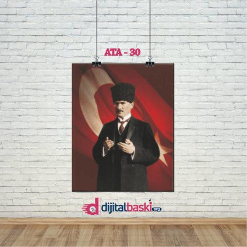 atatürk posterleri ATA 30