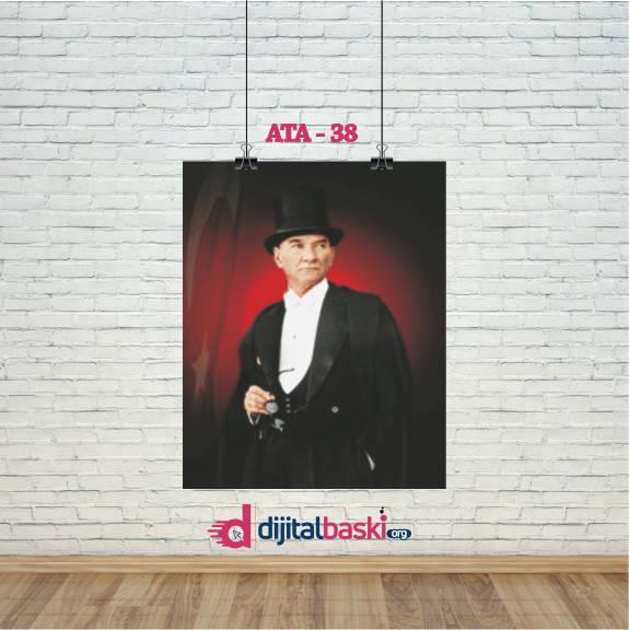 atatürk posterleri ATA 38