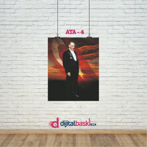 atatürk posterleri ATA 4