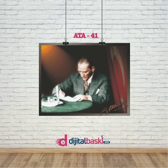 atatürk posterleri ATA 41