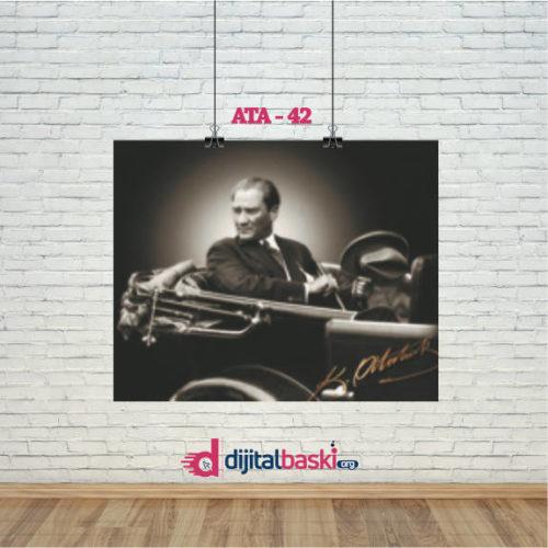 atatürk posterleri ATA 42