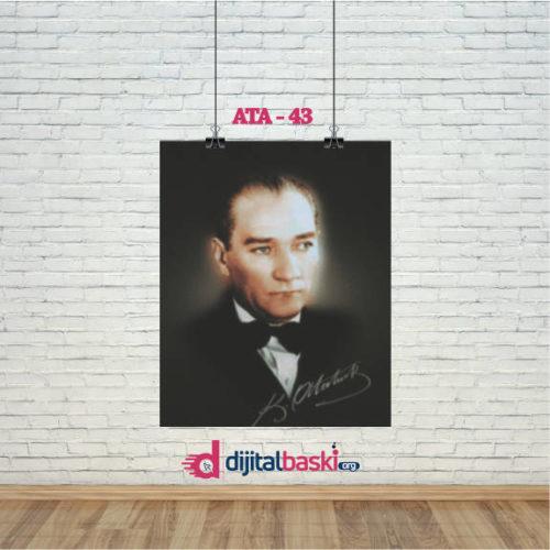 atatürk posterleri ATA 43