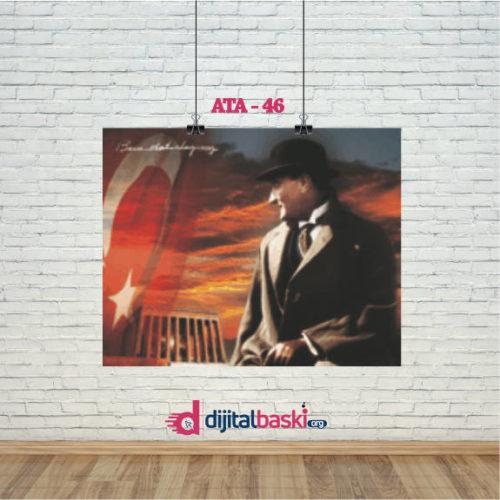 atatürk posterleri ATA 46