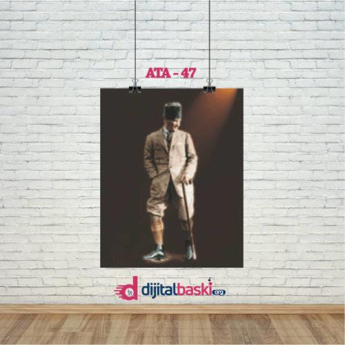 atatürk posterleri ATA 47