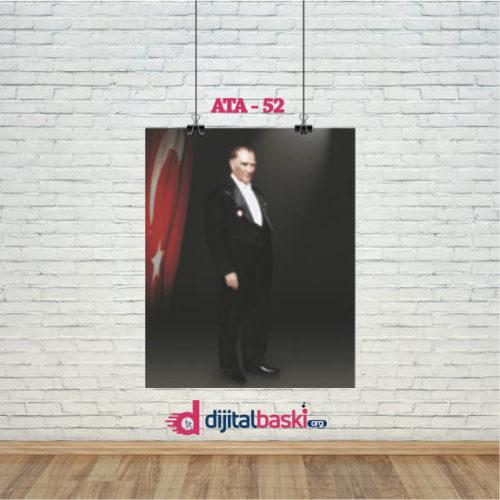 atatürk posterleri ATA 52