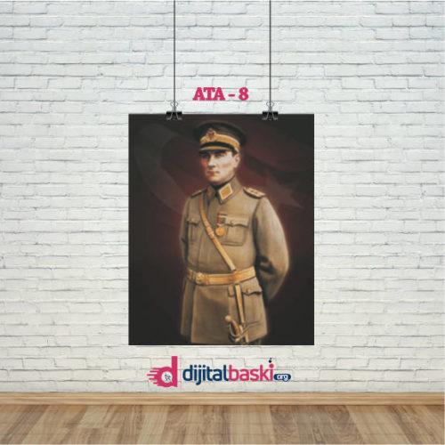 atatürk posterleri ATA 8