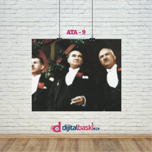 atatürk posterleri ATA 9