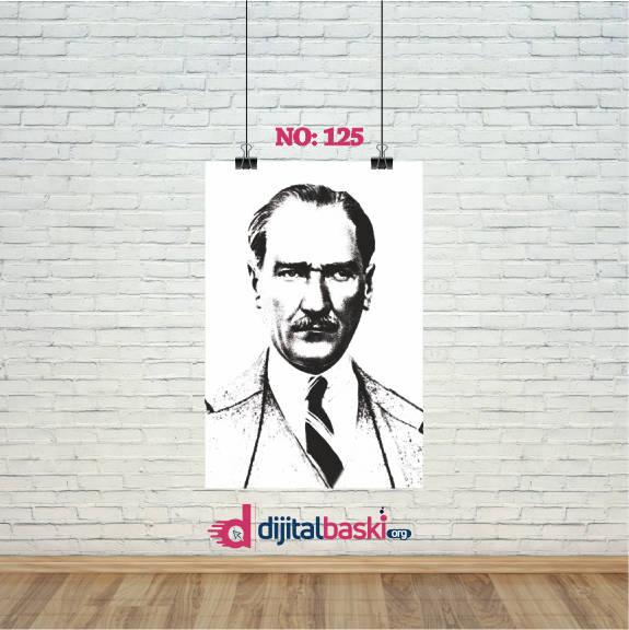 atatürk posterleri no 125