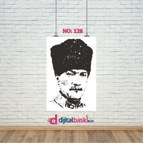 atatürk posterleri no 128
