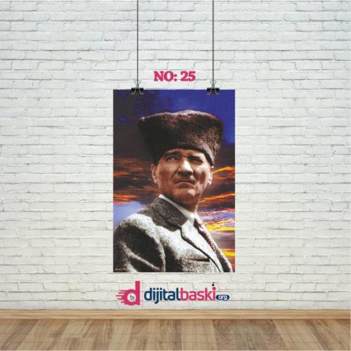 atatürk posterleri no 25