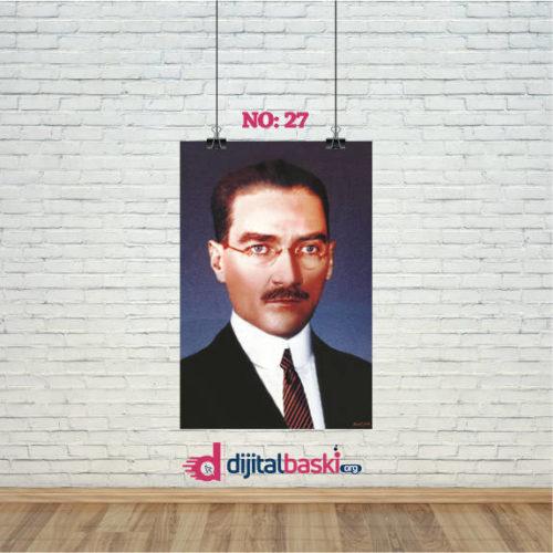 atatürk posterleri no 27