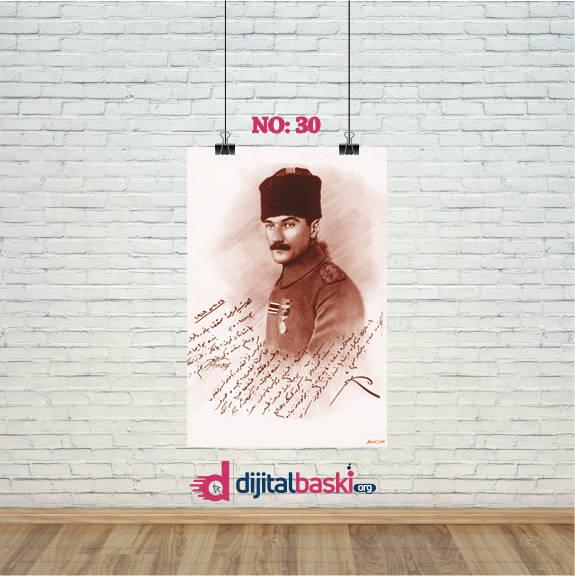 atatürk posterleri no 30