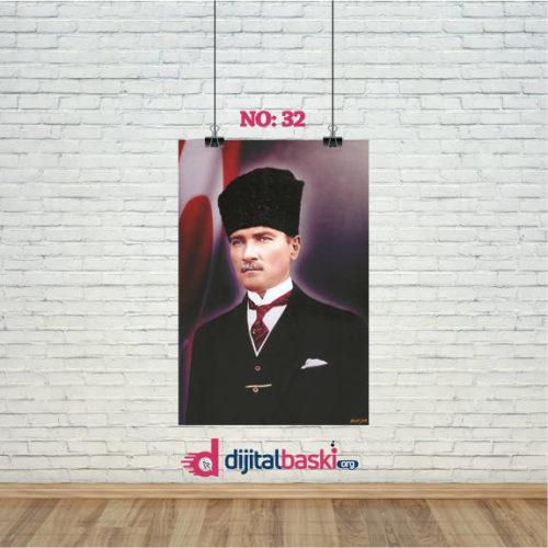 atatürk posterleri no 32