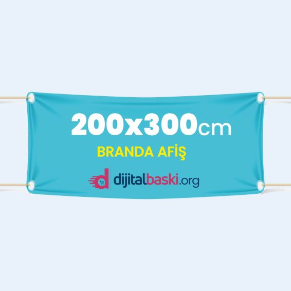 200x300cm branda afiş