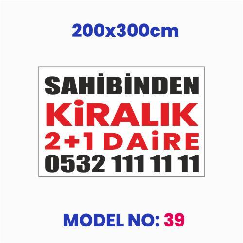 200x300cm afiş, pankart
