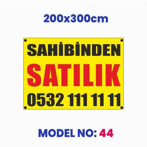 Sahibinden Satılık Afiş 200x300cm NO:44